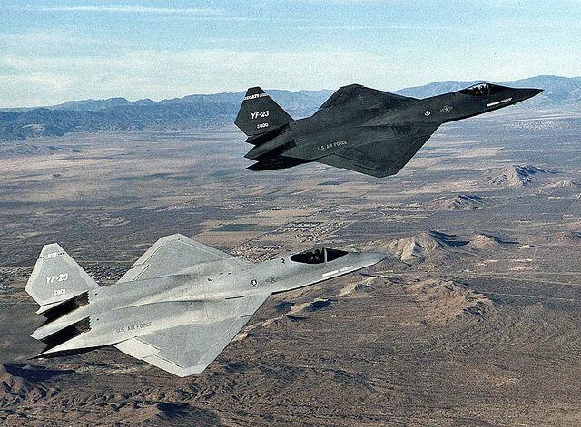 File:800px-Northrop YF-23 DFRC-1-.jpg