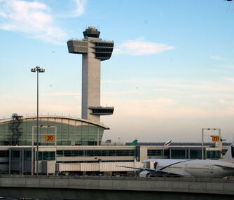 JFK Airport Tower and Terminal