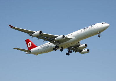 A340-300 Turkish