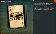 Battle of Siam Card Full