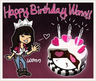 Happy Birthday Wonn's