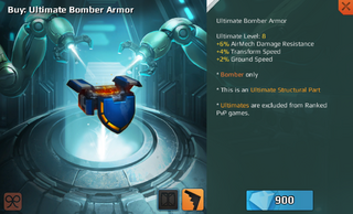 Ultimate Bomber Armor Full