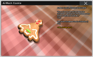 AirMech Cookie Full