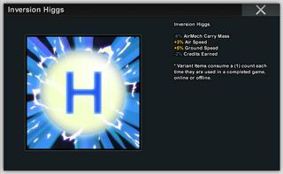Inversion Higgs