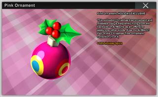 Pink Ornament Full
