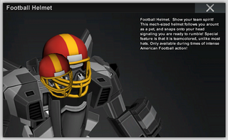 Football Helmet Full