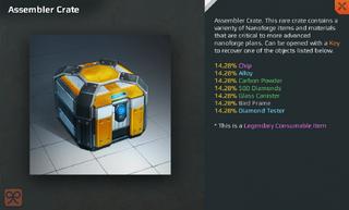 Assembler Crate Full
