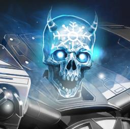 New Blue Skull