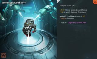 Armored Hand Mk4 Full