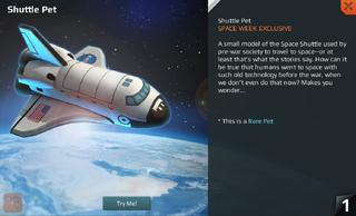 Shuttle Pet Full