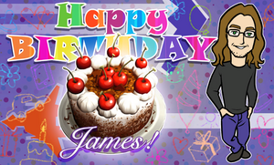 James' Cake Ad