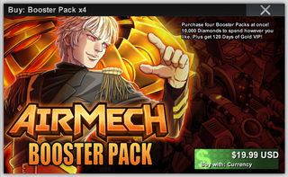 Booster Pack x4