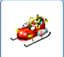 Jet-Powered Sleigh