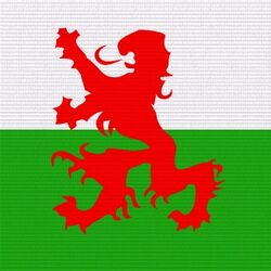 Welsh Defense Force logo
