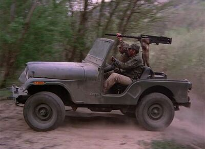 M2 on jeep-short walk to freedom