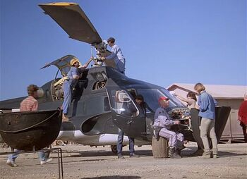 Repairing airwolf-short walk to freedom