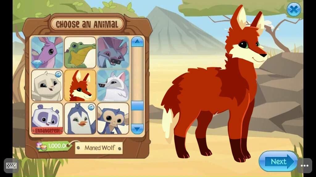 Maned Wolf   Animal Jam Fanon Wiki   FANDOM powered by Wikia
