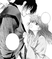 Yona asks Hak to give himself to her.png