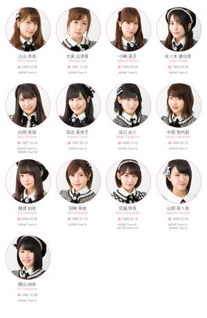 AKB48 Team A 2017