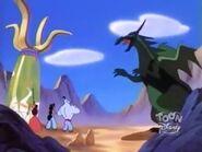 The Dragon attacks