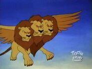 Giant Three Headed Lion 21