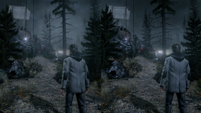 Alan wake xbox360 vs pc shot01 comparison