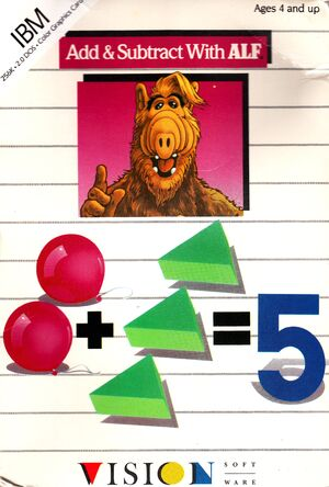 Add & Subtract with ALF Front Cover-cropped