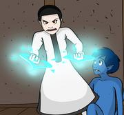 Gavia gets protective in Comic 83.