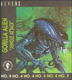Gorilla Alien kenner comic