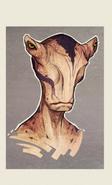 Aliens head conceptw i by zarnala-d4x5f0a