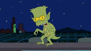 Bart-Looking Monster