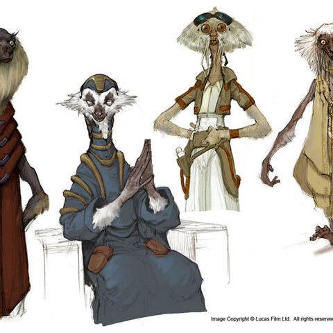 Sang Jung Lee's concept art of the Lurmen.