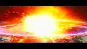 Keizer Ghidorah explodes.