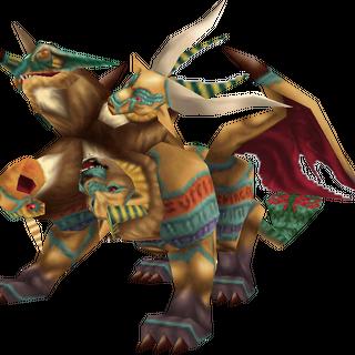 Chimera, a Behemoth-like monster.