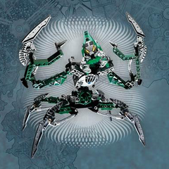 Nidhiki, was a Toa of Air, but was mutated, and became a Dark Hunter