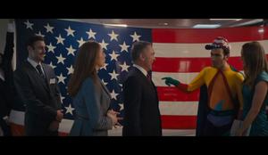 Superbob and June meet with Senator Jackson
