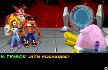 File:N.Trance prepares to hypnotise Coco, Crunch and Fake Crash..png