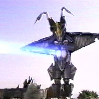 Winged Zetton from Ultraman Powered