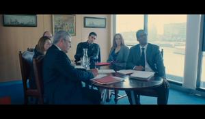 Superbob attends an emergency MOD meeting