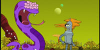 Purple Fruit Snake