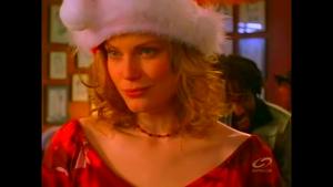 Mel poses as Miss December for Nestov.