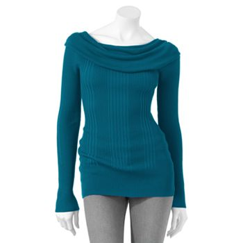 File:It's Our Time Ribbed Cowlneck Sweater Cruising Blue.jpg