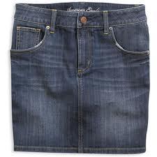 File:AE Denim Pencil Skirt - Dark Vintage.png