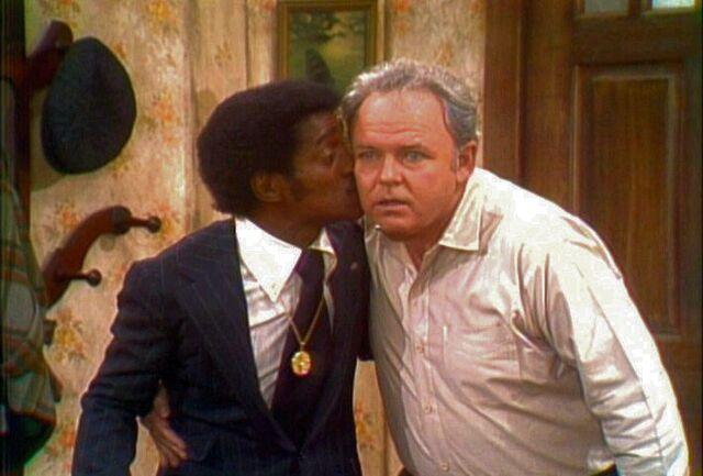 File:Sammy-davis-archie-bunker-kiss-2.jpg