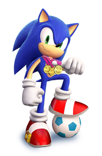 Sonic (Mario and Sonic) 001