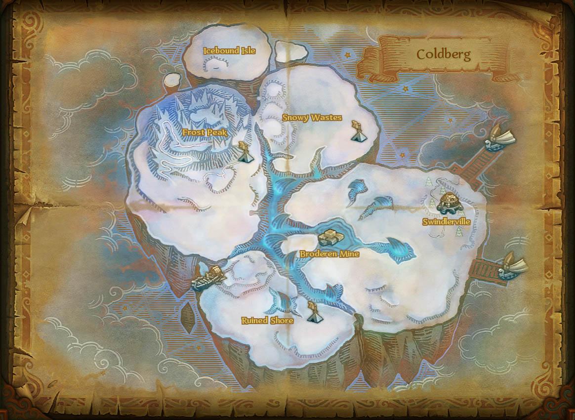 Map coldberg