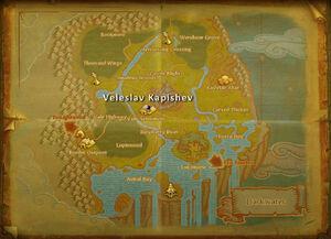 Veleslav Kapishev map