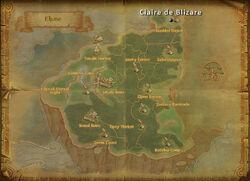 Claire deBlizare map