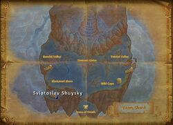 Sviatoslav Shuysky map