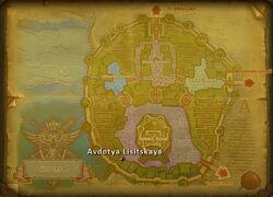 Avdotya Lisitskaya map